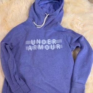 Purple Under Armour Hoodie Medium